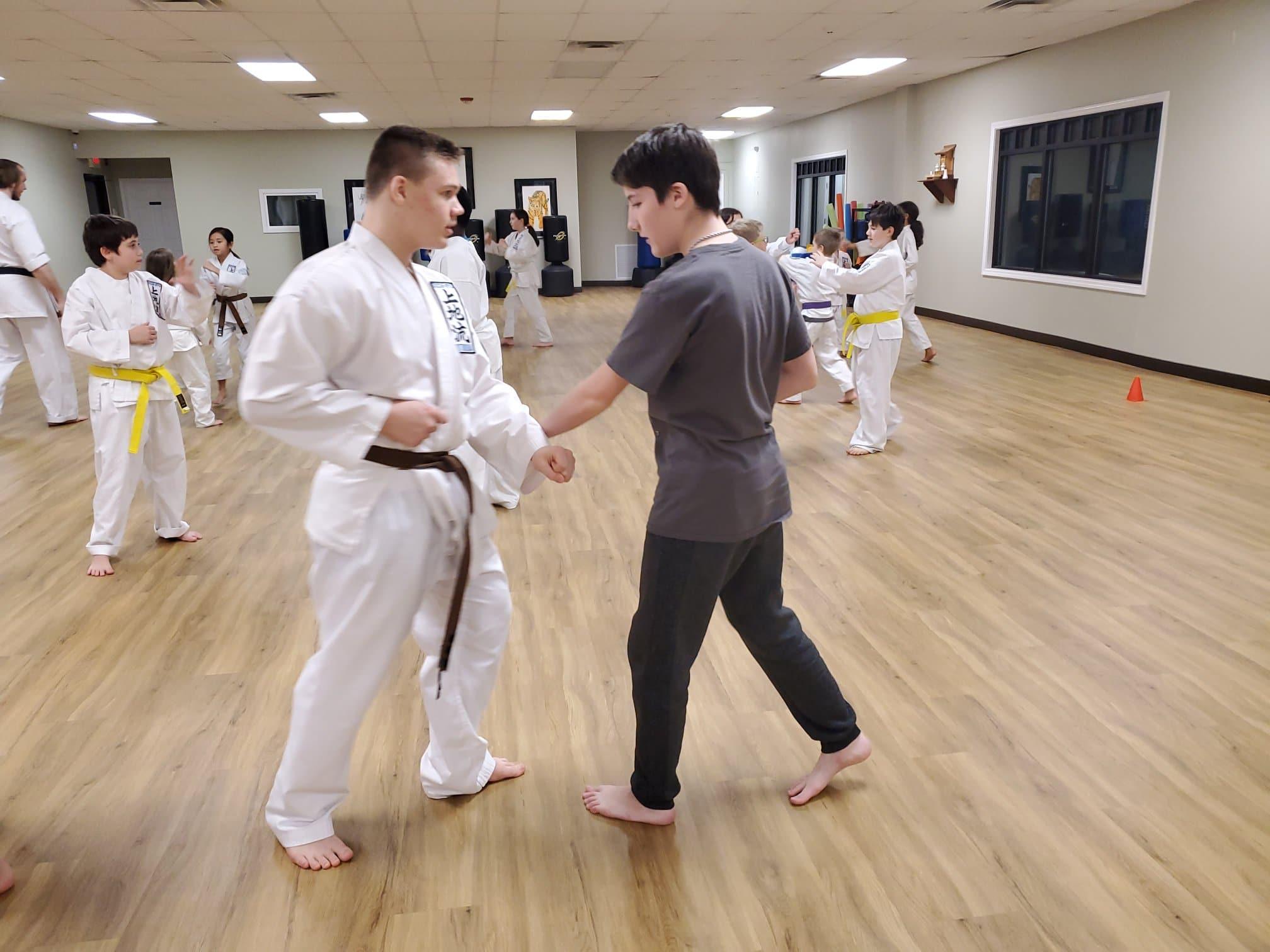 Kids Class at Neil Stone's Karate Academy