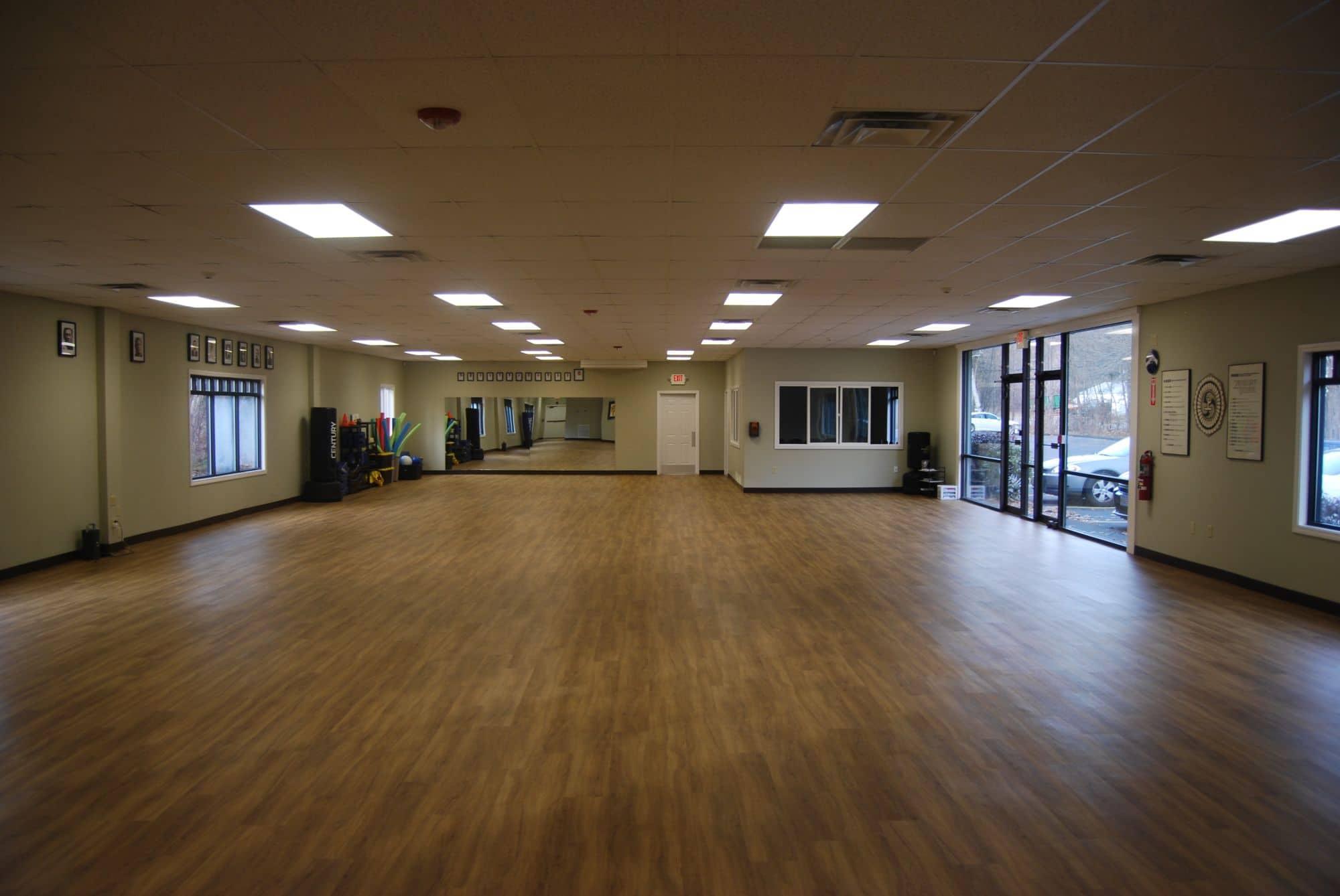 Interior of Neil Stone Karate