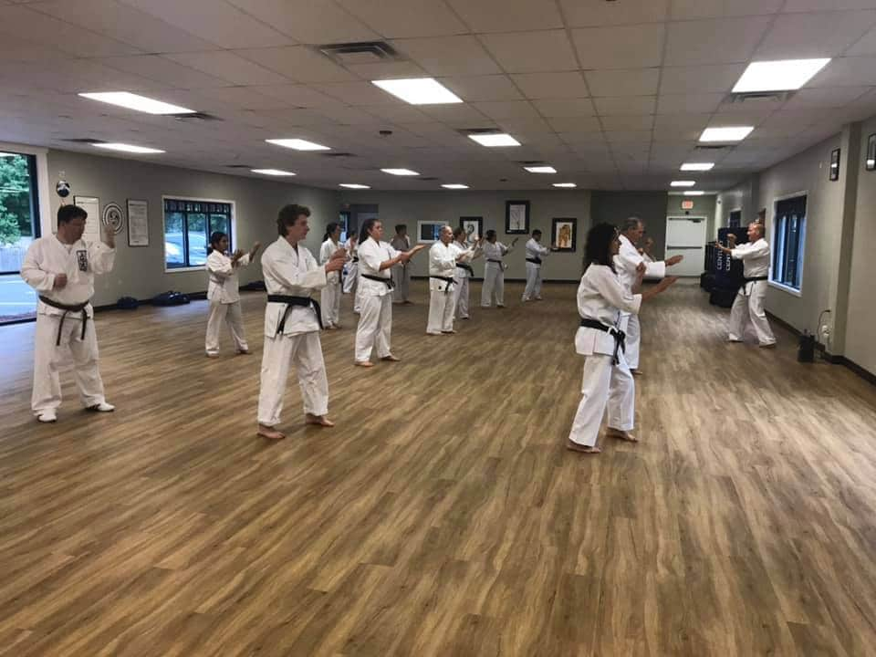 Adult Karate Class at Neil Stone's Karate Academy
