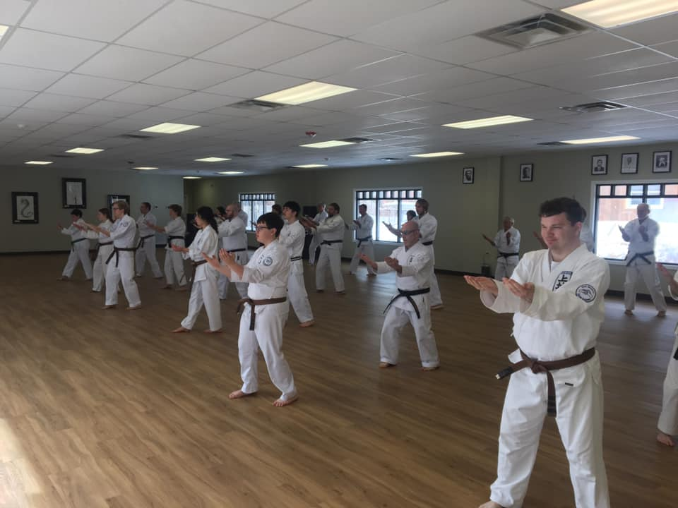 Adult Class at Neil Stone's Karate Academy