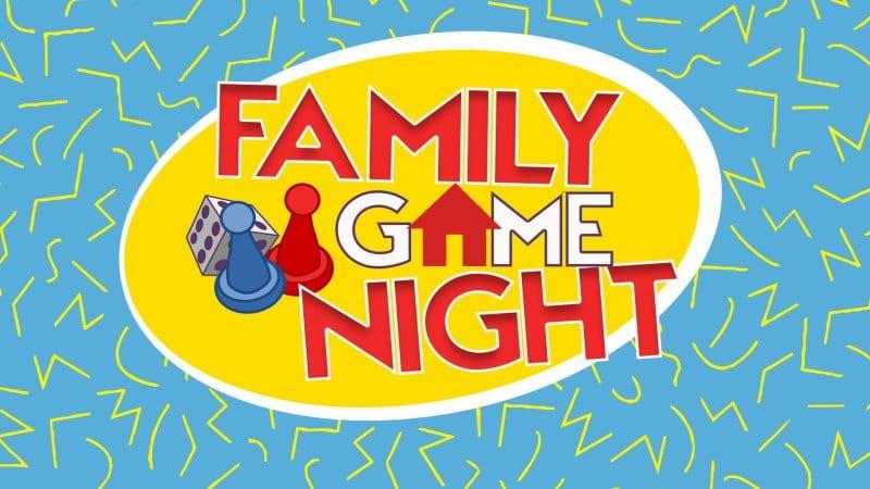 Family Game Night Logo