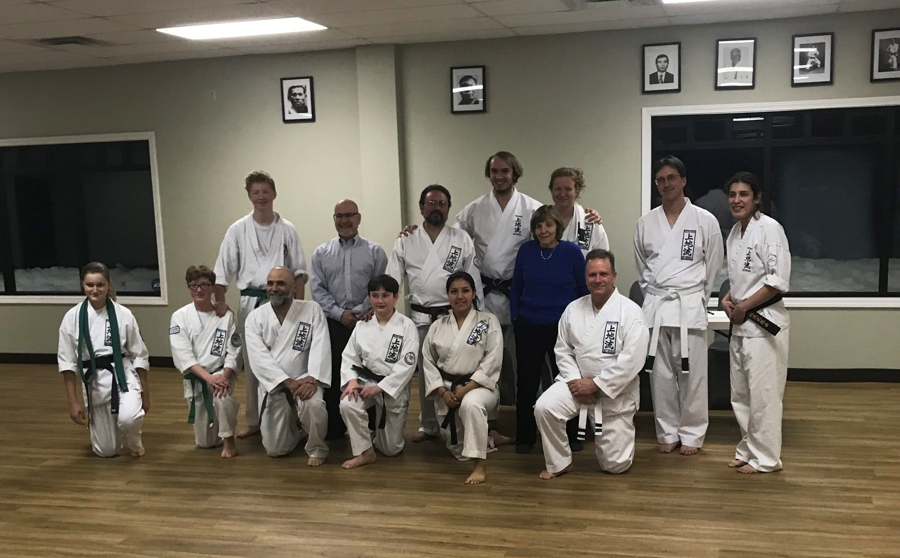 Group of Students at Neil Stone's Karate Academy