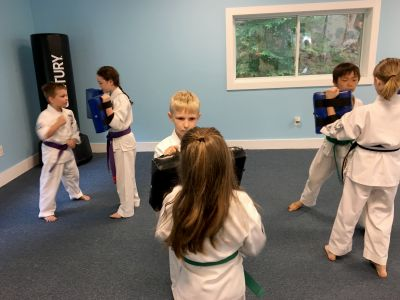 Homeschooled Students at Neil Stone's Karate Academy