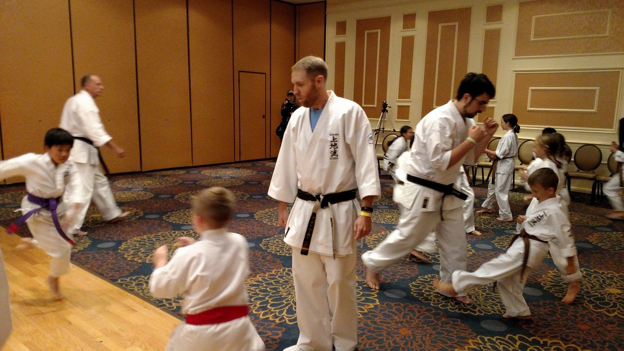 Presentation by Neil Stone's Karate Academy