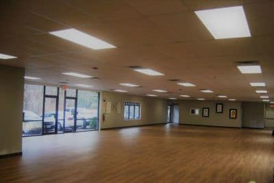 Interior of Neil Stone Karate Academy