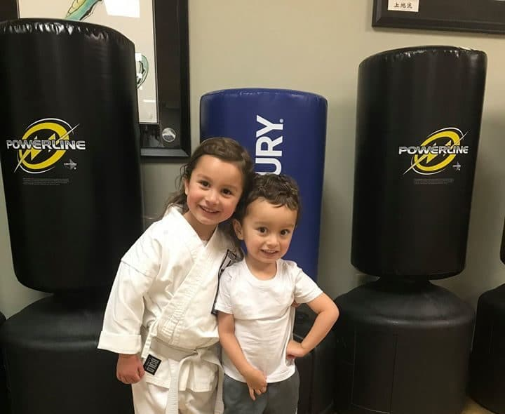 Smiling Kids at Neil Stone's Karate Academy