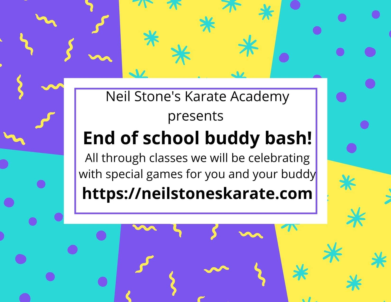 Neil Stone's Karate Academy End of School